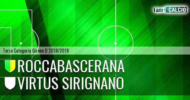 Roccabascerana - Virtus Sirignano