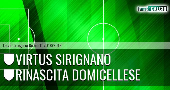 Virtus Sirignano - Rinascita Domicellese
