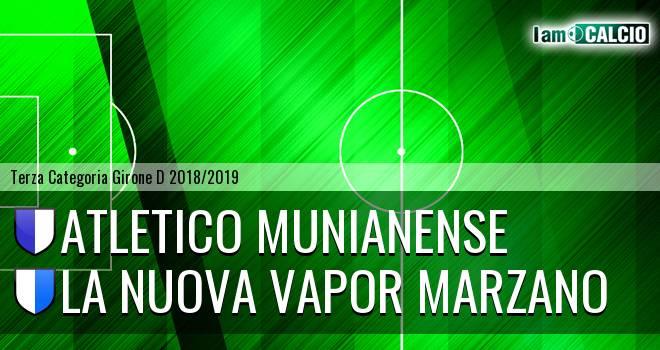 Atletico Munianense - La Nuova Vapor Marzano