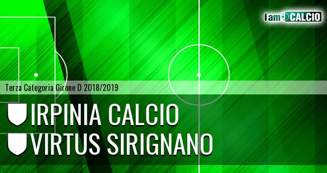 Irpinia Calcio - Virtus Sirignano