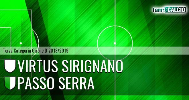 Virtus Sirignano - Passo Serra