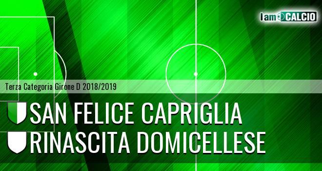 San Felice Capriglia - Rinascita Domicellese