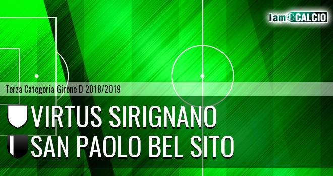 Virtus Sirignano - San Paolo Bel Sito