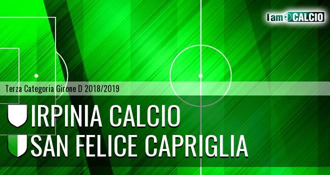 Irpinia Calcio - San Felice Capriglia