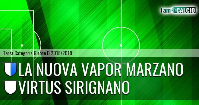 La Nuova Vapor Marzano - Virtus Sirignano