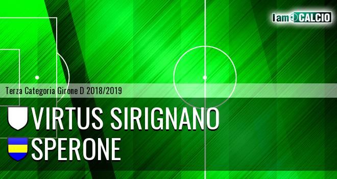 Virtus Sirignano - Sperone