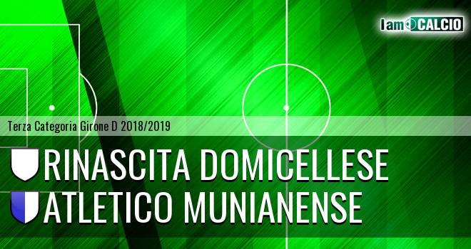 Rinascita Domicellese - Atletico Munianense