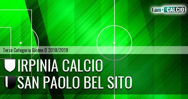 Irpinia Calcio - San Paolo Bel Sito