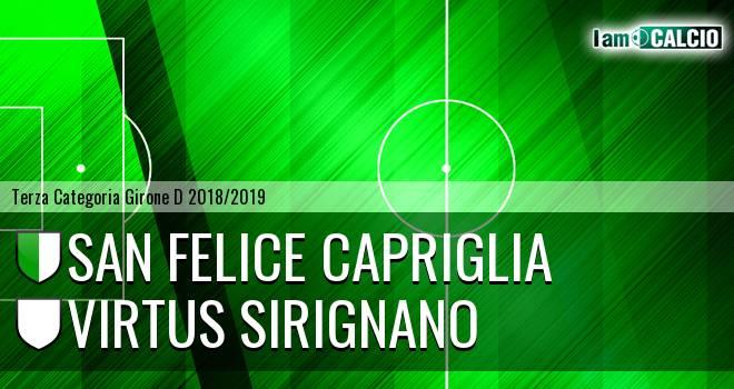 San Felice Capriglia - Virtus Sirignano