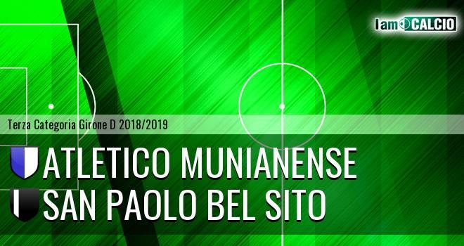 Atletico Munianense - San Paolo Bel Sito