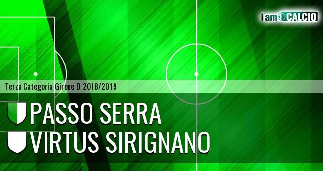 Passo Serra - Virtus Sirignano