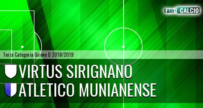 Virtus Sirignano - Atletico Munianense
