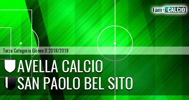 Avella Calcio - San Paolo Bel Sito