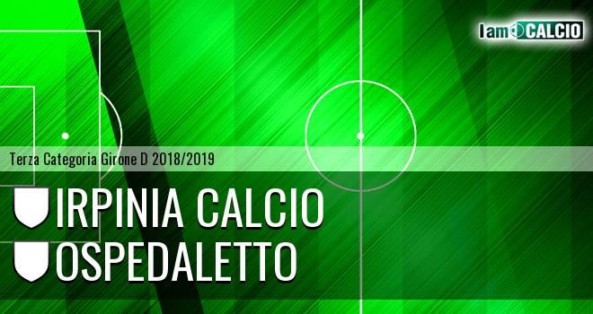Irpinia Calcio - Ospedaletto