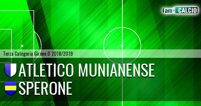 Atletico Munianense - Sperone