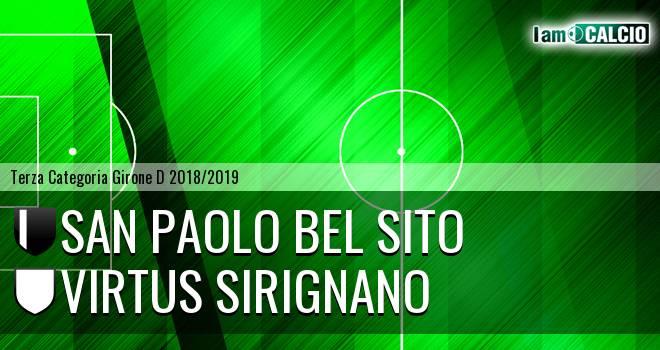 San Paolo Bel Sito - Virtus Sirignano