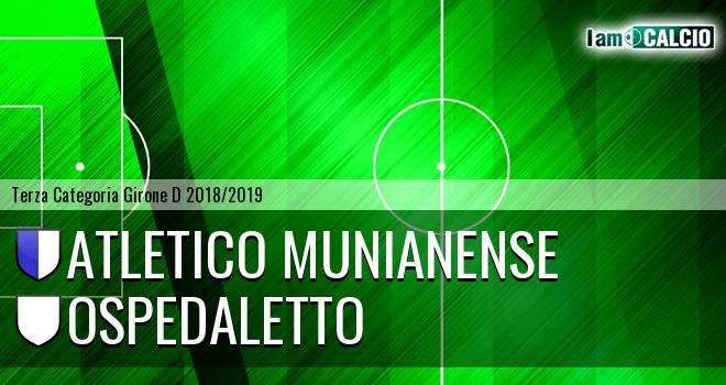 Atletico Munianense - Ospedaletto