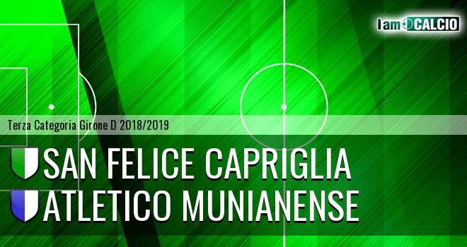 San Felice Capriglia - Atletico Munianense