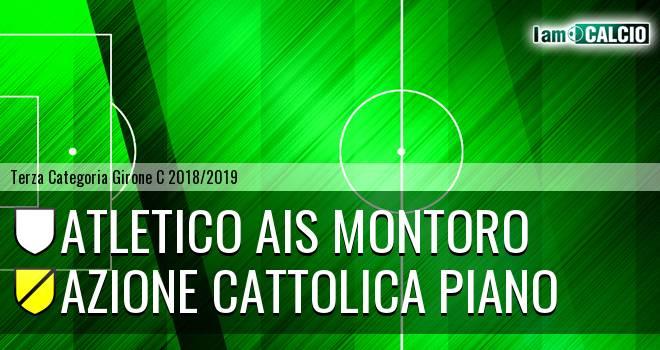Atletico Ais Montoro - Azione Cattolica Piano