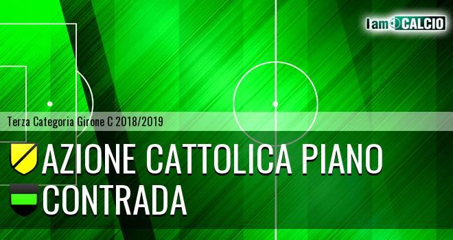 Azione Cattolica Piano - Contrada