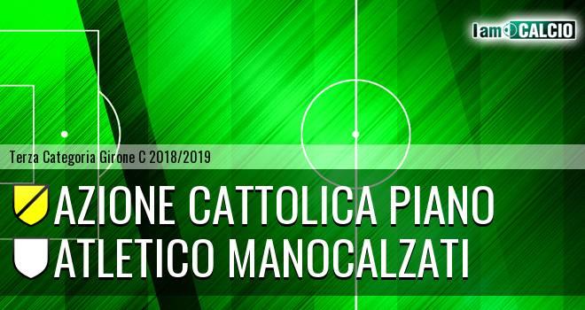 Azione Cattolica Piano - Atletico Manocalzati