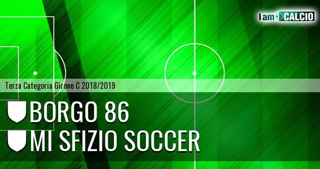 Borgo 86 - Mi Sfizio Soccer