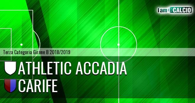 Athletic Accadia - Carife