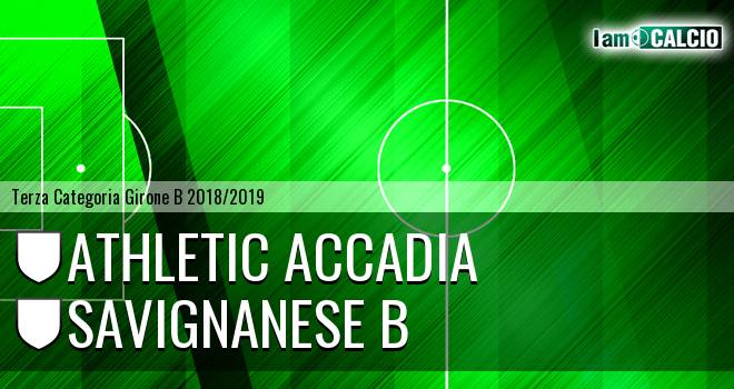 Athletic Accadia - Savignanese B