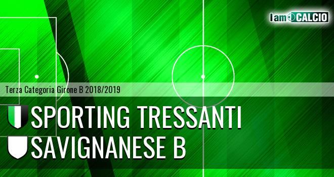 Sporting Tressanti - Savignanese B