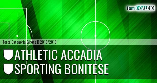 Athletic Accadia - Sporting Bonitese