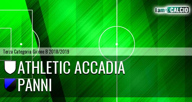 Athletic Accadia - Panni
