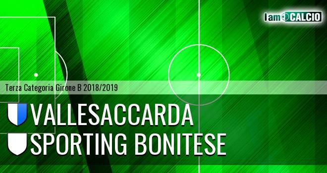 Vallesaccarda - Sporting Bonitese