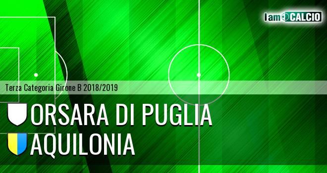 Orsara di Puglia - Aquilonia