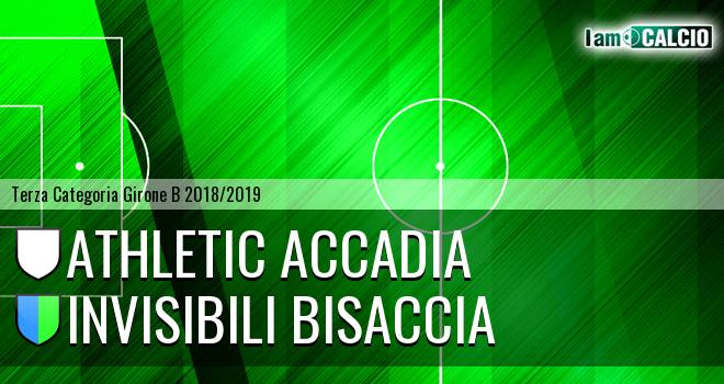 Athletic Accadia - Invisibili Bisaccia