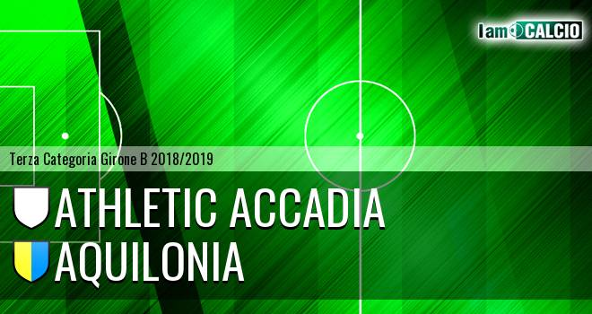 Athletic Accadia - Aquilonia