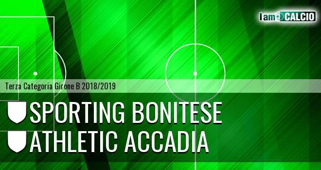 Sporting Bonitese - Athletic Accadia