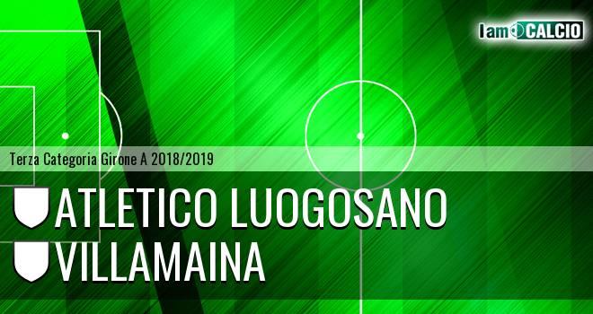 Atletico Luogosano - Villamaina