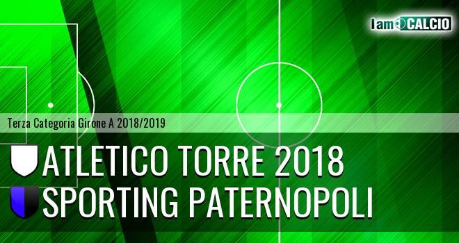 Atletico Torre 2018 - Sporting Paternopoli