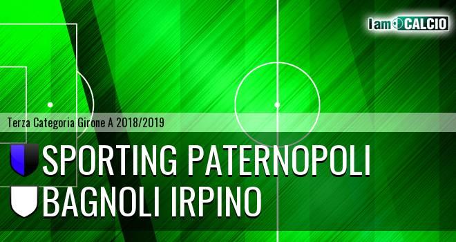Sporting Paternopoli - Bagnoli Irpino