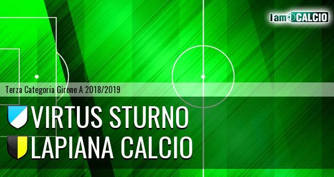 Virtus Sturno - Lapiana Calcio