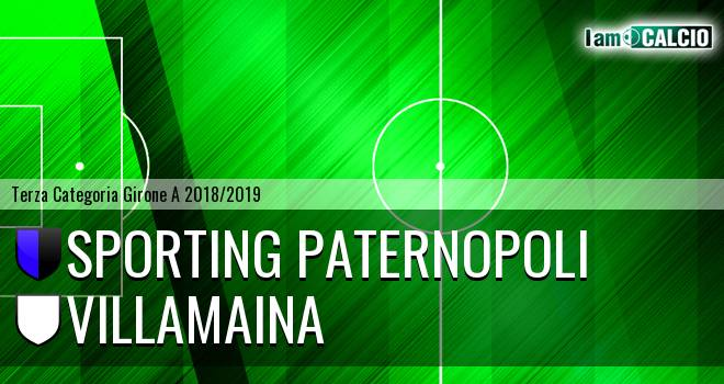 Sporting Paternopoli - Villamaina