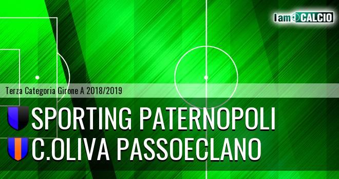 Sporting Paternopoli - C.Oliva Passoeclano