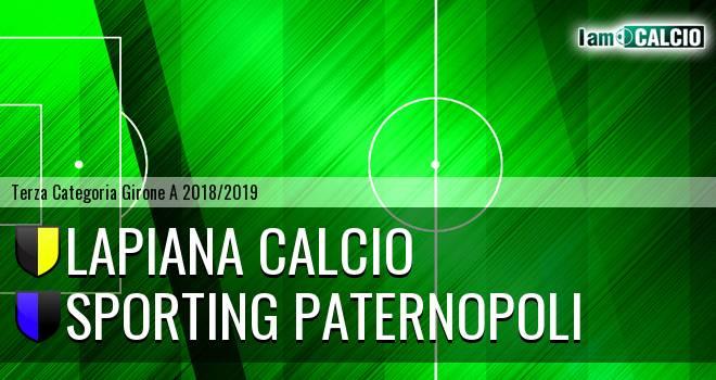 Lapiana Calcio - Sporting Paternopoli