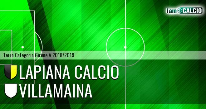 Lapiana Calcio - Villamaina