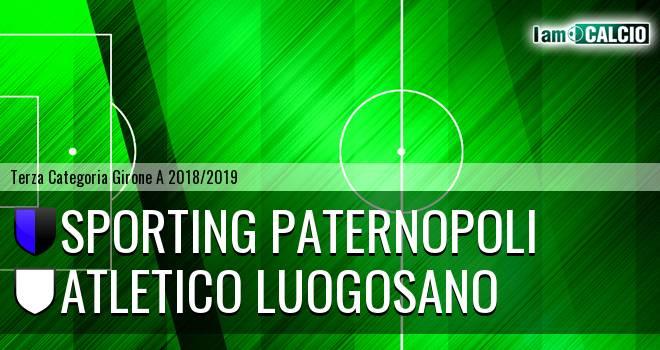 Sporting Paternopoli - Atletico Luogosano