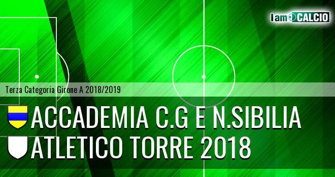 Accademia C.G e N.Sibilia - Atletico Torre 2018