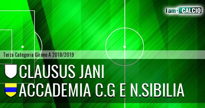 Clausus Jani - Accademia C.G e N.Sibilia
