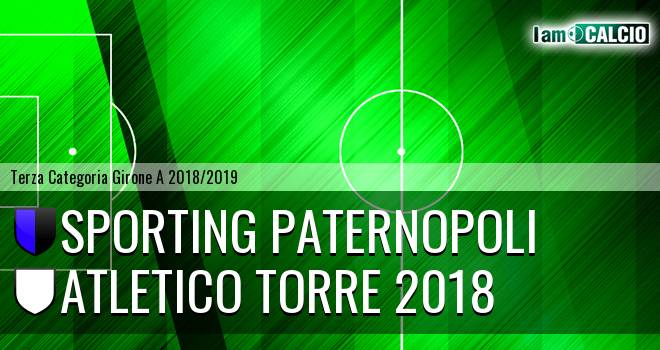 Sporting Paternopoli - Atletico Torre 2018