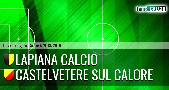 Lapiana Calcio - Castelvetere sul Calore