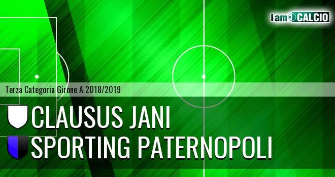 Clausus Jani - Sporting Paternopoli
